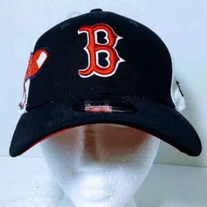 New Era 39Thirty Double Mesh Boston Red Sox Cap